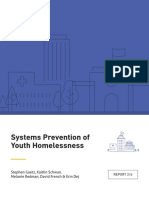 Systems Prevention of Youth Homelessness