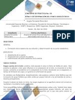 Preinformes Practica 3 y 4 Bioquimica