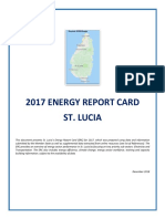 St. Lucia, Energy Report Card 2017, 12-2018