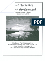 Blue Horseshoe Business Plan