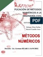 Metodos Numericos If
