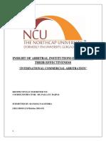 Internationaal Commecial Arbitration.docx