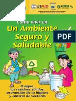 B. Cartilla Cómo Vivir en Un Ambiente Seguro y Saludable