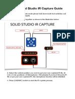 NUX Solid Studio IR Capture Guide