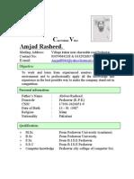 Curriculum Vitae Amjad2