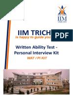 IIM Trichy_WAT-PI Kit.pdf