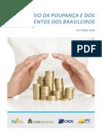 20181002 Estudo Spc Cenario Da Poupanca e Dos Investimentos Dos Brasileiros