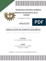 Tarea Unidad 1.- Simulación de Eventos Discretos
