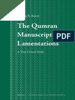 Gideon Kotze, The Qumran Manuscripts of Lamentations A Text Critica.pdf