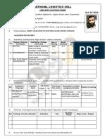 Application FORM NLC