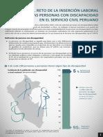 Personas Con Discapacidad en El Servicio Civil Peruano 2015
