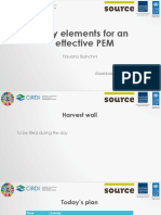 Key Elements for an Effective Participatory Environmental Monitoring