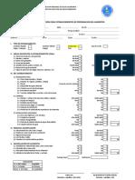 Fichas Evaluación Preparación Alimentos y Almacenes