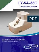 Biseladora Manual LY 5A 35G
