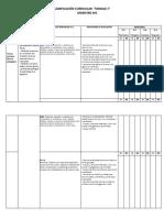 Planificacion Curricular Ciencias Naturales - 1 Basico- 1 Unidad