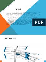 Antenas Vhf y Uhf