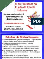 O Papel do Professor na Construção de Escolas Inclusivas