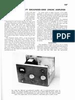 An 811-A 200 Watt Grounded Grid Linear Amplifier 68hb187