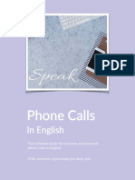 Phone Calls in English