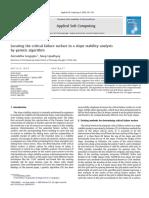 Genetic Algorithm in slope stability anaylisis