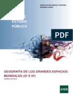 GEOGRAFÍA DE LOS GRANDES ESPACIOS MUNDIALES (Gª E Hª)