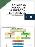 Guia Planeación Estratégica 2019 - Primera Parte
