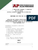 Informe de Bioquimica 2017