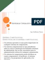 Sistemas Operativos - Clase 3