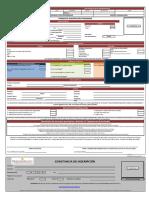 Formulario de Especialización