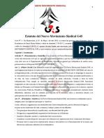 Estatuto de Sindicato Uruguay-Asociacion Civil Registrada ante MEC