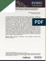 A Prática Do Dumping Social No Projeto de Lei Nº43302004 e a Precarização Das Relações e Garantias Trabalhistas