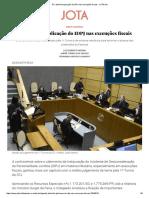 STJ Delimita Aplicação Do IDPJ Nas Execuções Fiscais - JOTA Info