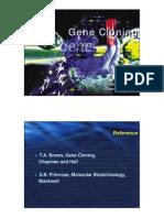 Steps in Gene Cloning
