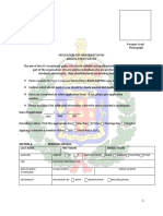JCF Application Form