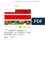 Morena Perfila a González Alcántara Como Ministro de La SCJN – Las Noticias de Chihuahua – Entrelíneas