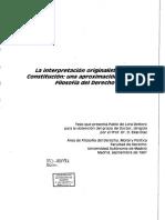 PABLO DE LORA. ORIGINALISMO.pdf