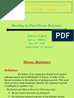 Breeding for Plant Disease Resistance