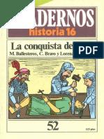 Cuadernos de Historia 16 052 La conquista de Peru 1985.pdf