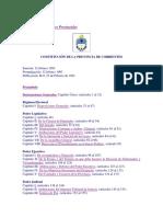 Constitución de Corrientes