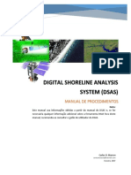 Manual de Procedimento - Digital Shoreline Analysis System - DSAS - 37 Págs