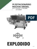 Explodido Motor Chatarai 34 Recon Vincado Inicial