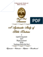 A Systematic Study of Bible Doctrine - T P Simmons