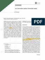 SSI Pile Analysis - Kavitha Et. Al. 2016