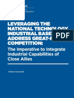 Leveraging the National Technology Industrial Base to Address Great-Power Competition