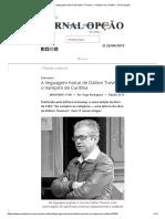 A Linguagem Haicai de Dalton Trevisan, o Vampiro de Curitiba - Jornal Opção