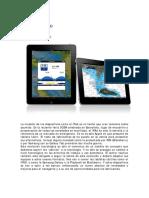 Informatica a Bordo Cap 46 Navionics en El iPad