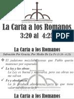 4) La Carta a Los Romanos 3.20 - 4.25