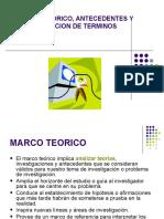 SEMINARIO TALLER  DE TESIS I  CAPITULO II MARCO TEORICO.ppt