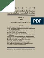 W. Rogowski, K. Baumgart (auth.), Prof. Dr.-Ing. W. Rogowski (eds.) - Arbeiten aus dem Elektrotechnischen Institut der Technischen Hochschule Aachen_ Band III_ 1928-Springer-Verlag Berlin Heidelberg (.pdf