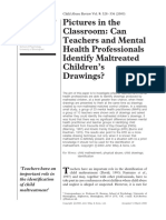 Pregrado - Veltman, M. & Browne, K. (2000). Pictures in the Classroom. Can Teachers and Mental Health Professionals Identify Maltreated Children's Drawings